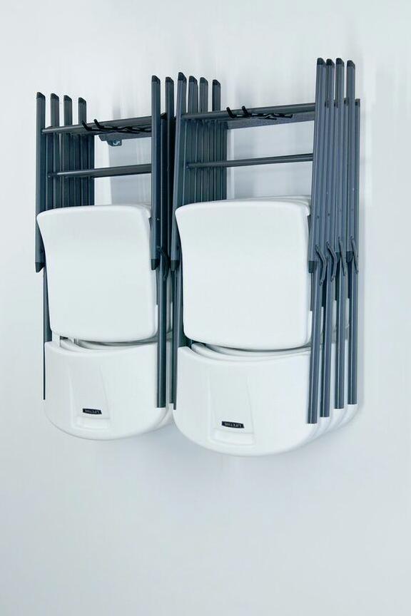 Folding Chair Storage Rack