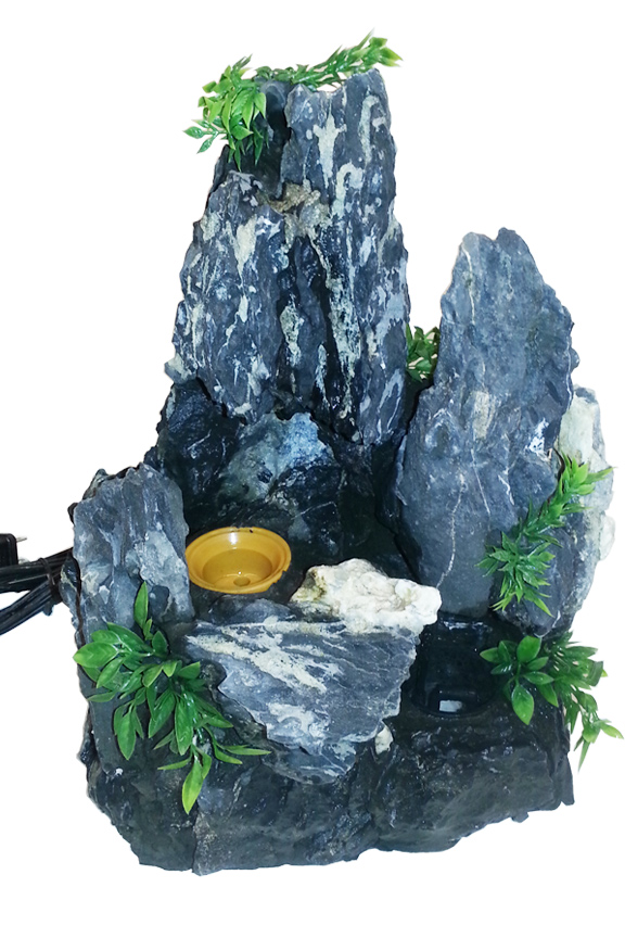 Rock Formation Fountain Part Mountain With Pump Mister
