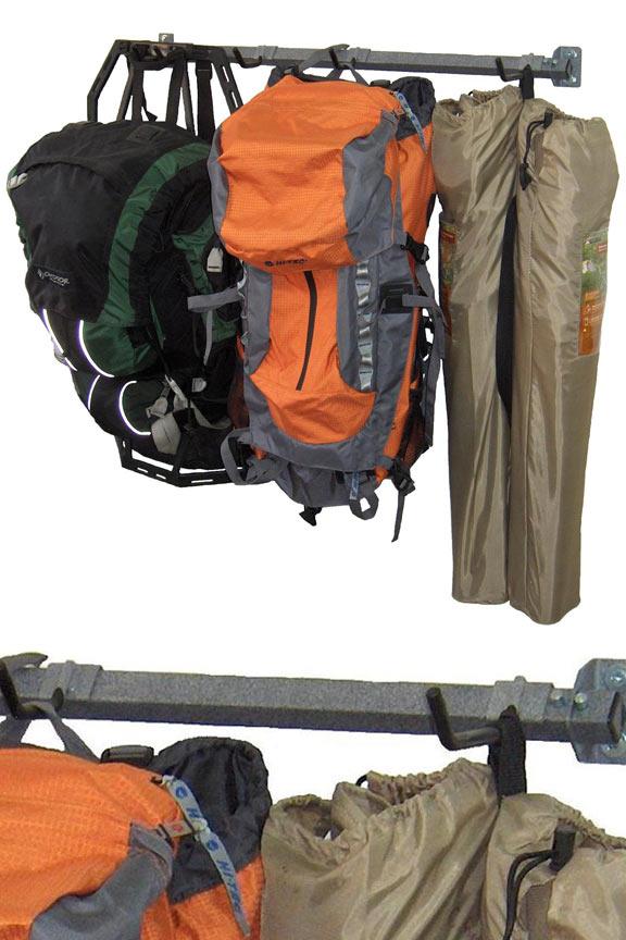 Camping Gear Storage Rack