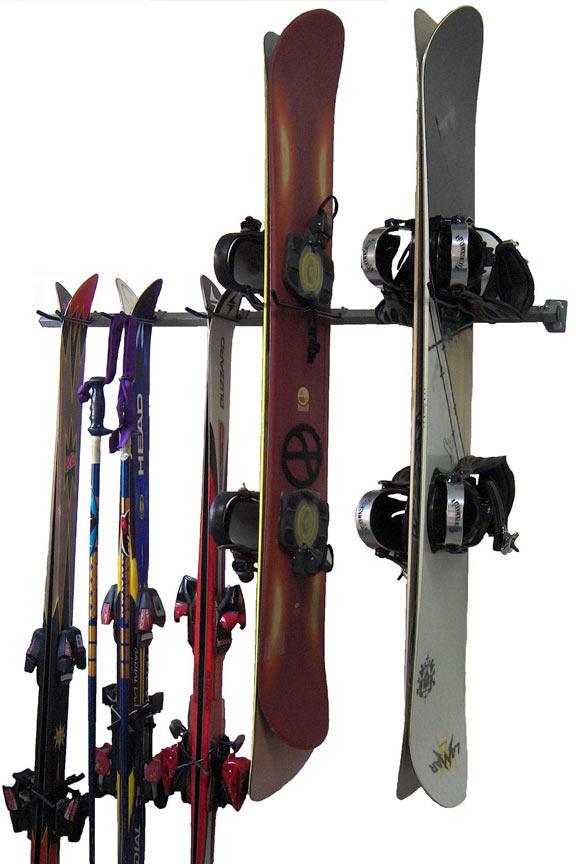 Ski And Snowboard Combination Storage Rack