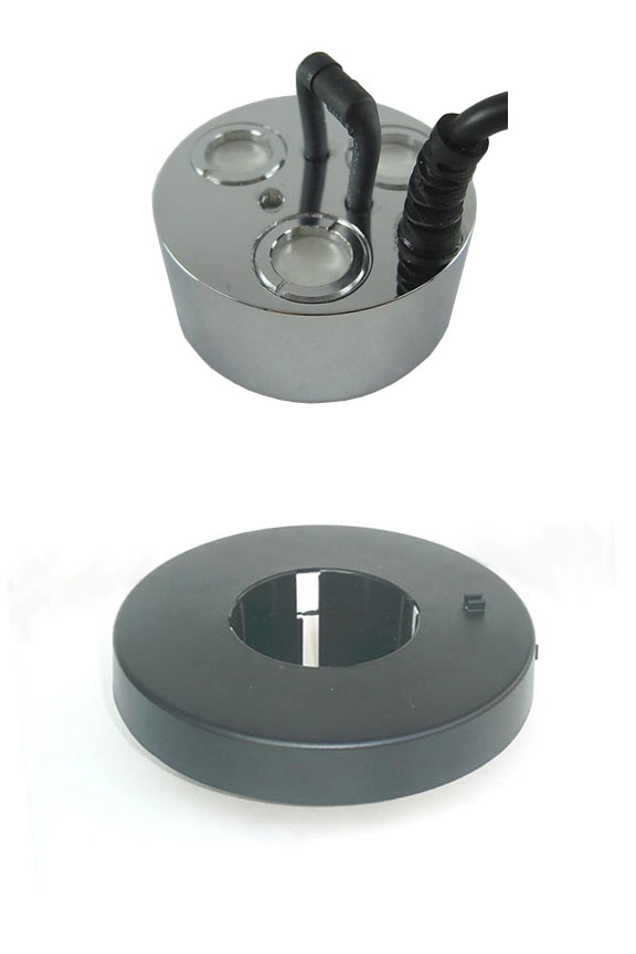 3 Disc Outdoor Mister With All Weather Transformer And