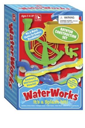 Waterworks Construction Set Bath Toy