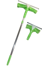 Microfiber Window Washer Set 2 Powerful Tools And One