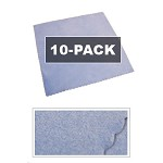 10-Pack Microfiber CD/DVD/BLU Cloth