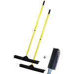2 Brooms and a Brush Combo (18 in.)