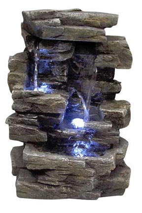 WIN220 - Rock Waterfall Indoor Fountain