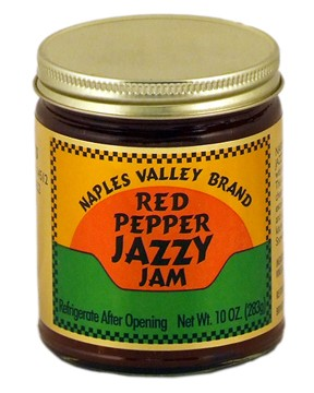 Jazzy Red Pepper Jam