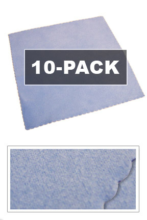 10-Pack of Disc Cleaning Cloths