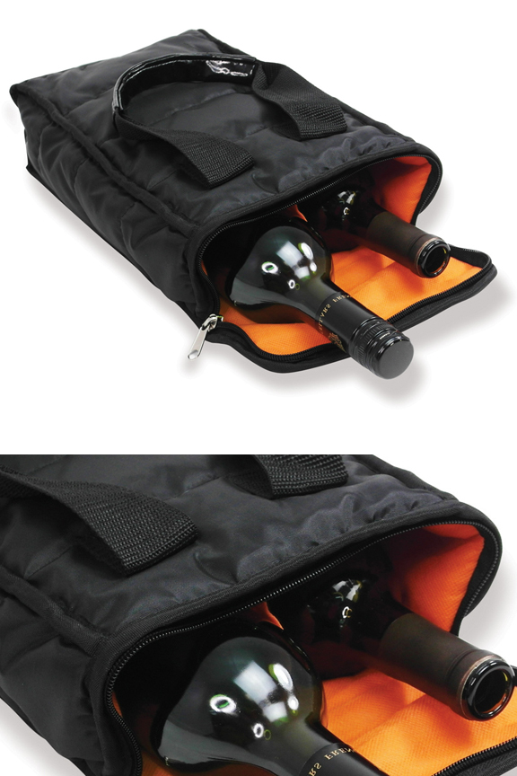 2 Bottle Insulated Wine Tote