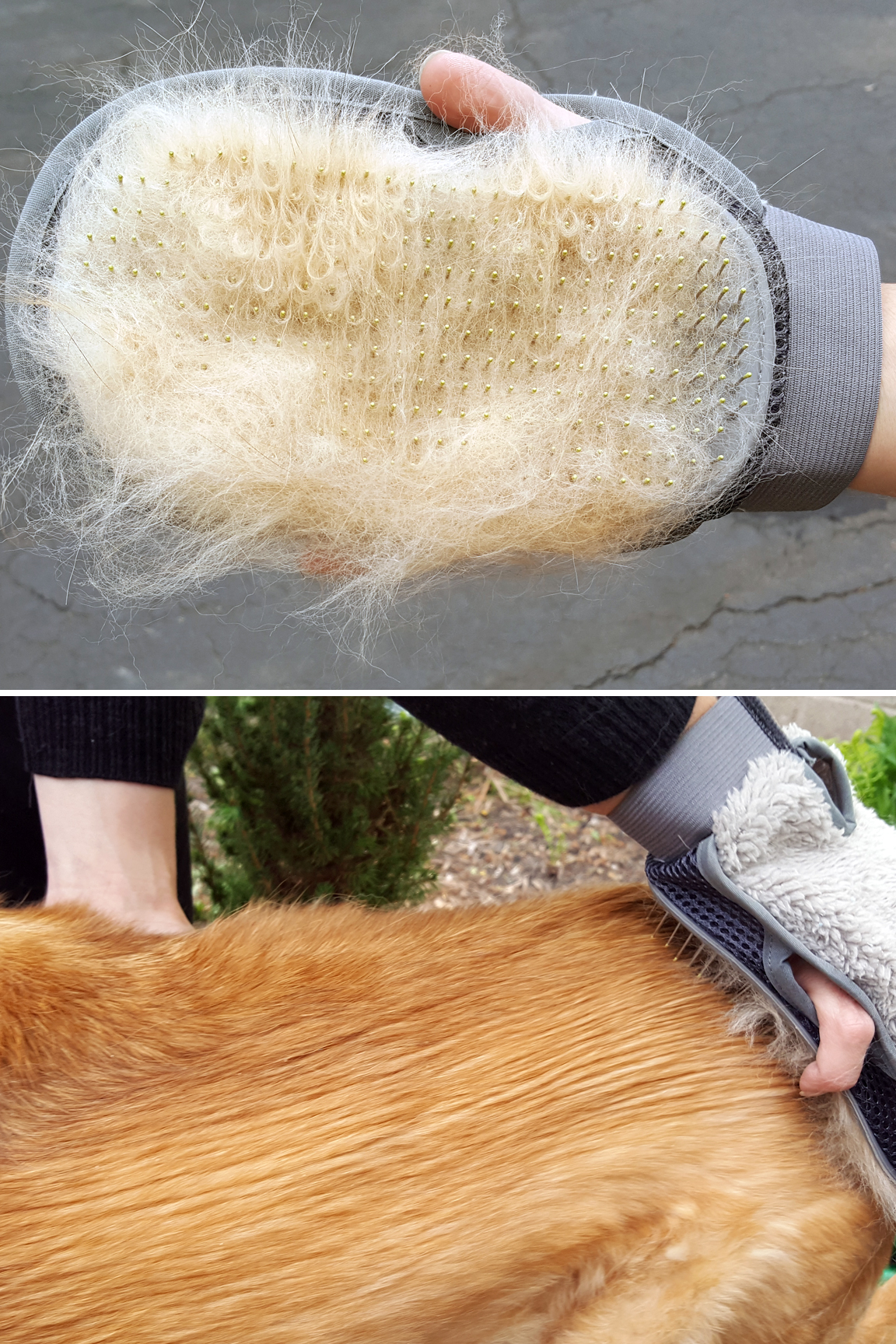 For medium or long-haired pets. Quickly groom dogs or cats like a pro.