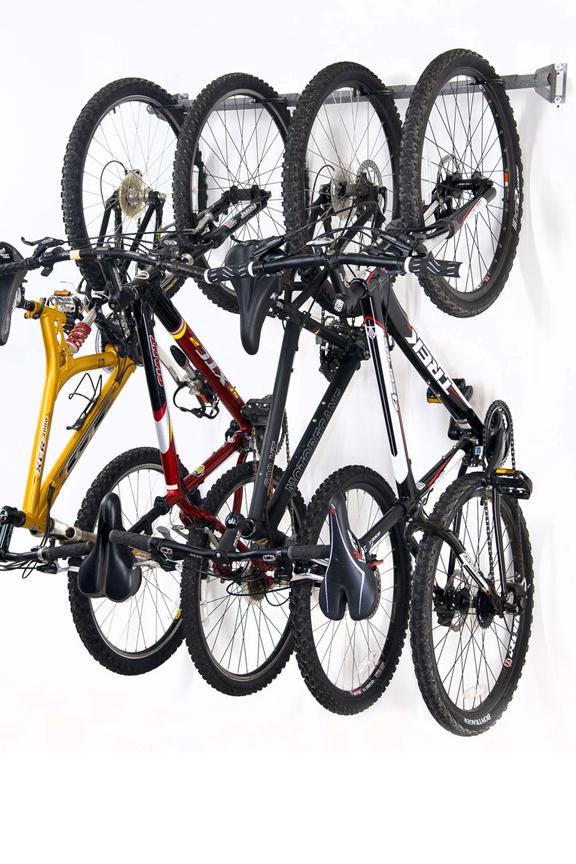 Bike Storage Rack - Hang Up To Four Bicycles