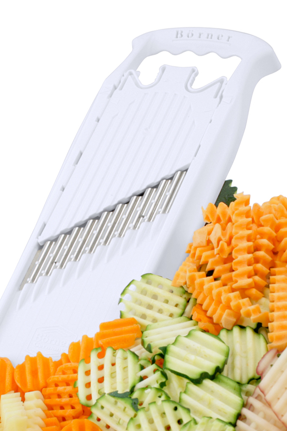 Borner Powerline Wave Waffle Cutter With Adjustable Safety