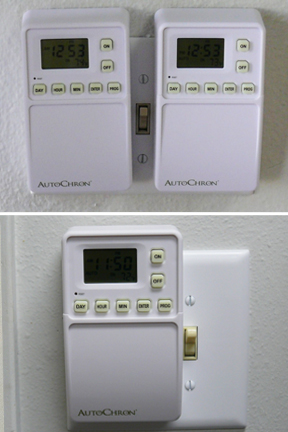 Perfect size for use on single switches, or multiple switches.