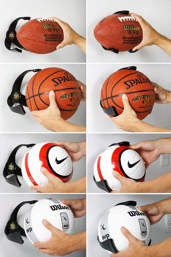 Quickly and easily insert or remove balls from the holder.