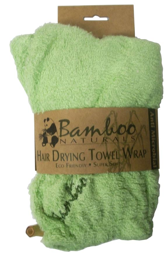 Bamboo Hair Drying Towel Wrap