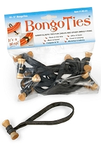 BongoTies 10-Pack