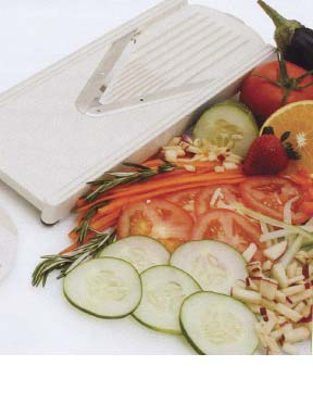 Slice, dice chop or julienne with this one great tool.