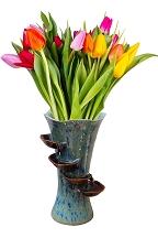 Ceramic Flower Vase Fountain