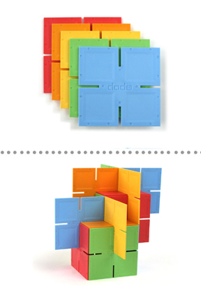 Dado Squares Building and Stacking Toy.
