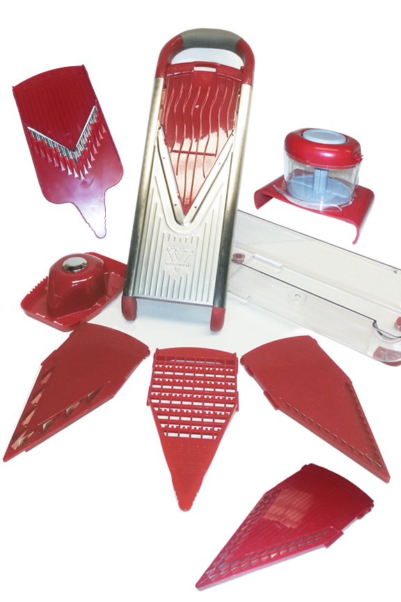 10 Piece Stainless Steel Slicer Set