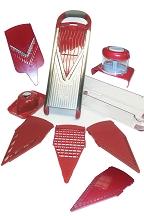 Deluxe Steel Slicer Set (10 Pieces)