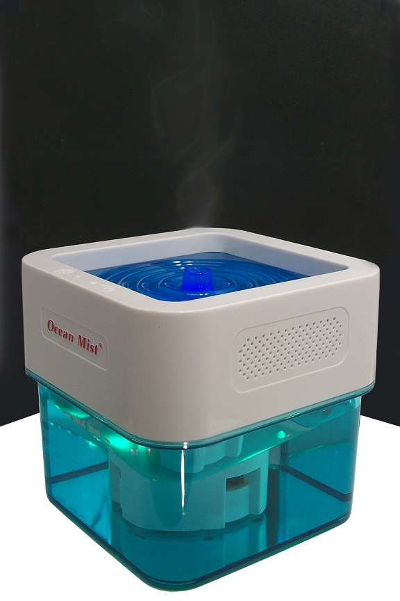 Never ending stream of natural vapor. Soothes and moisturizes.