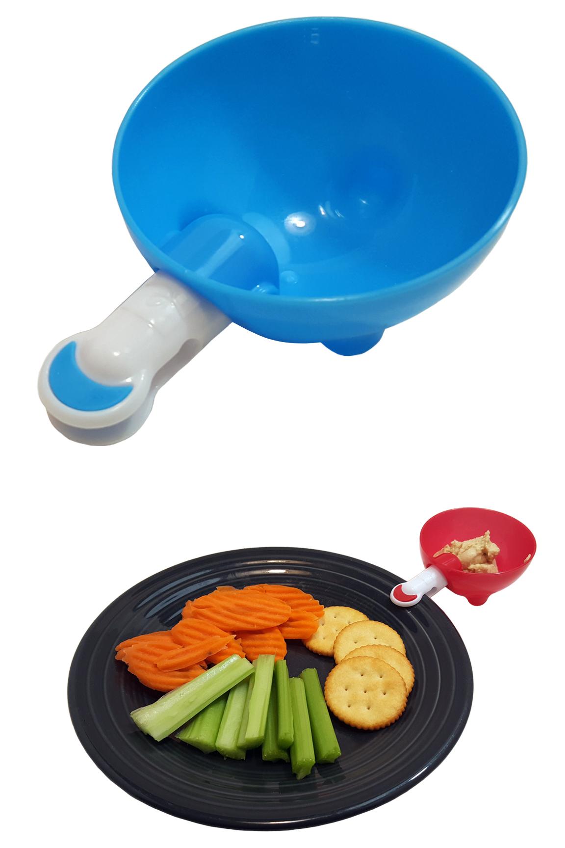 Dip Clip Clip-On Sauce Holder