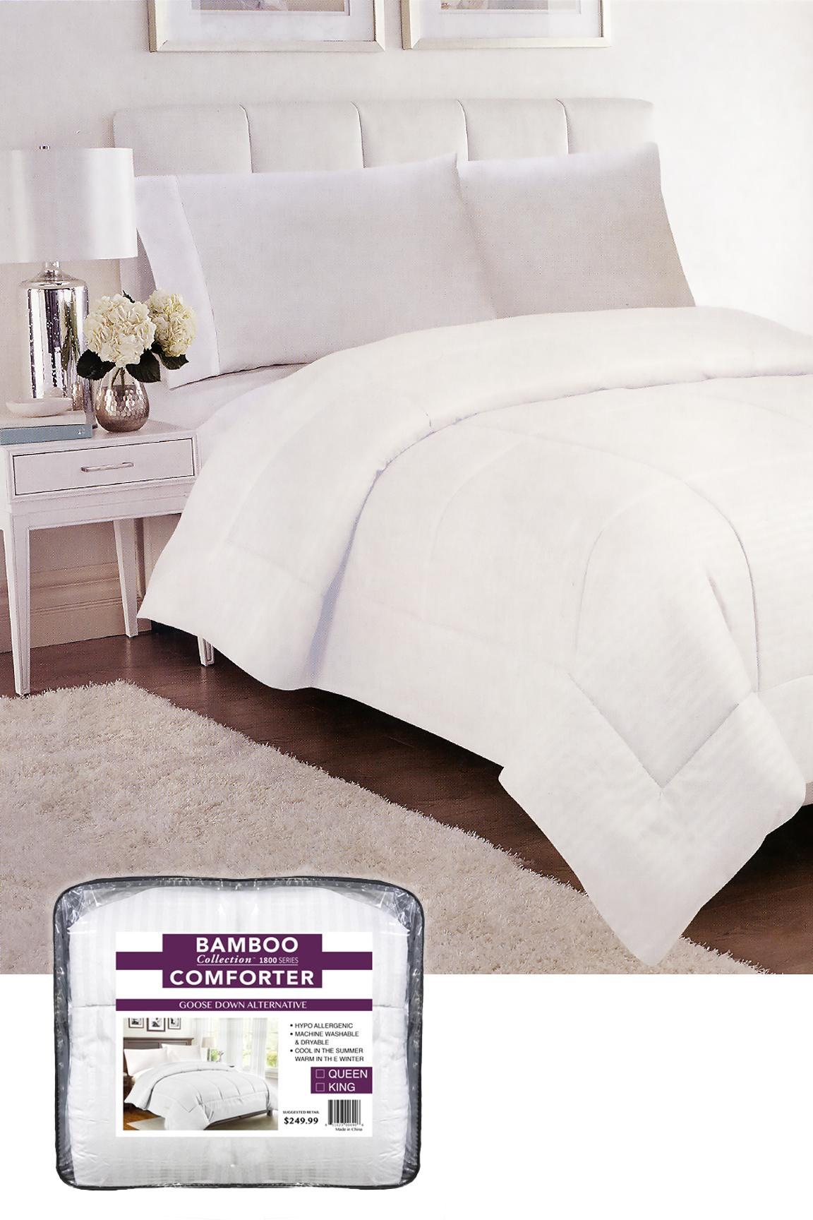Down Alternative Bamboo Comforter