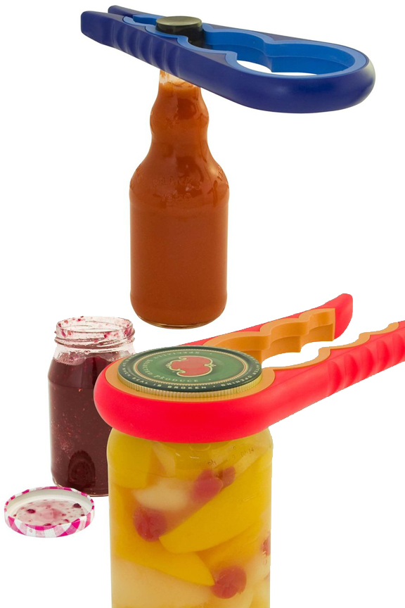 Adapts to work with a wide range of lid sizes.