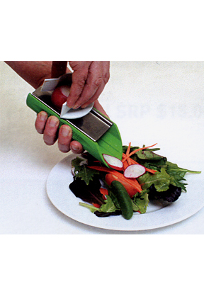 A smaller slicing tool.