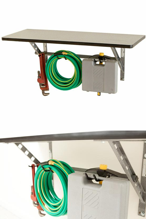 Wall Mounted Workbench