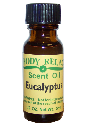 Eucalyptus Fragrance Oil (1/2 oz)