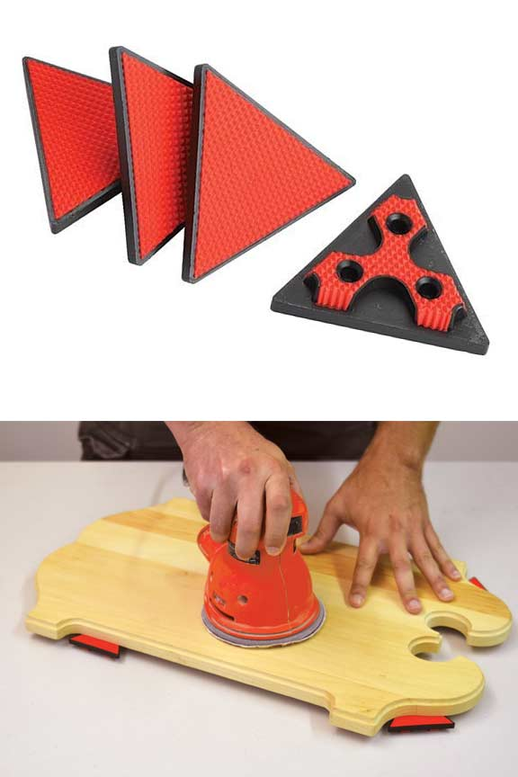 Grabbers - Stop projects from moving or sliding.