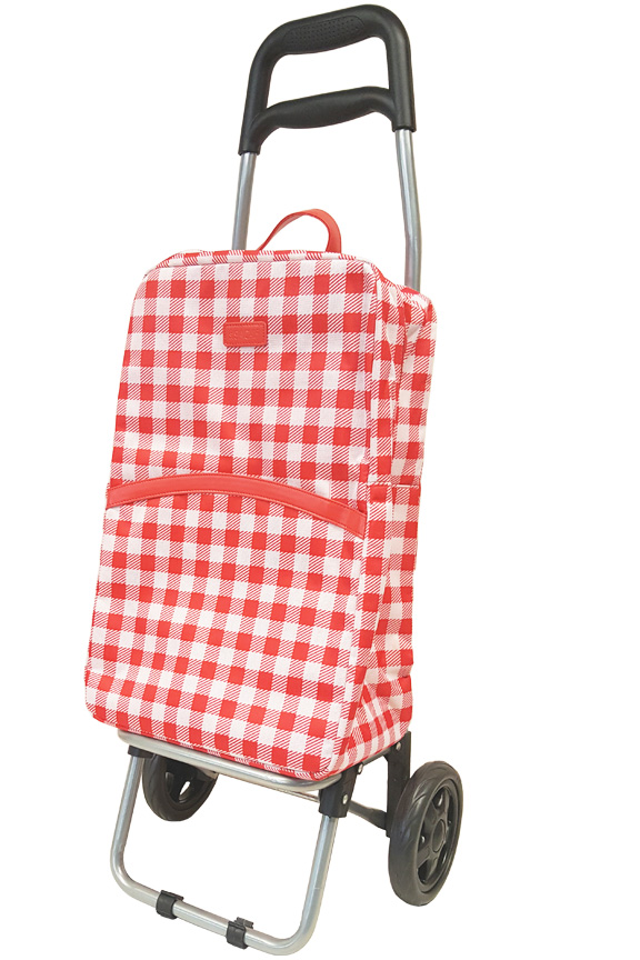 Product detail. Red gingham style.