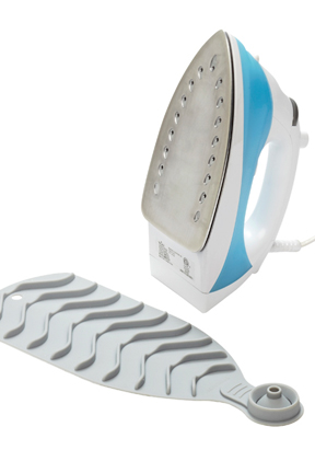 Use with any iron to protect your ironing board.