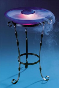 Deluxe Iron Mist Fountain. Two Stands Included.