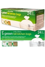 Biodegradable Tall Kitchen Bags (24 bags)