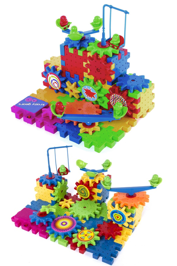 Endless possibilities for construction. Bright colors to keep children engaged.