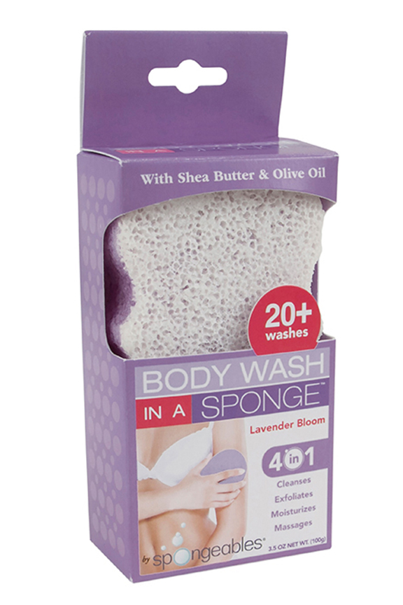 20+ Body Wash In A Sponge