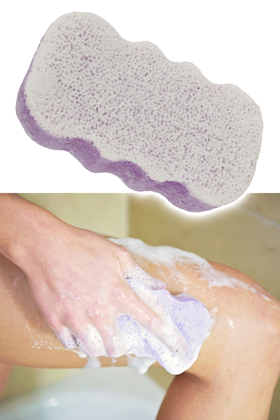 Just wet with water for a rich lather. Clean and condition skin.