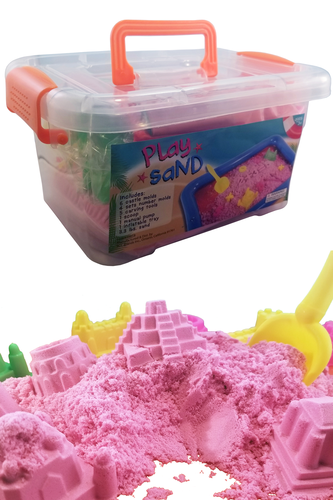 Magic Play Sand Set (32 Pieces)