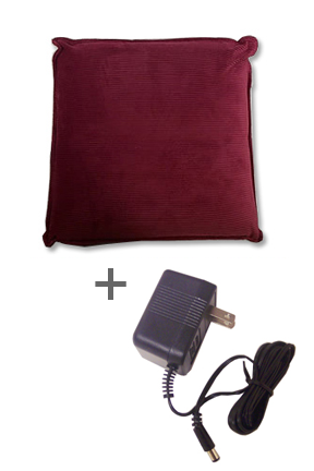 Massage Pillow Combo - AC Adapter Included!