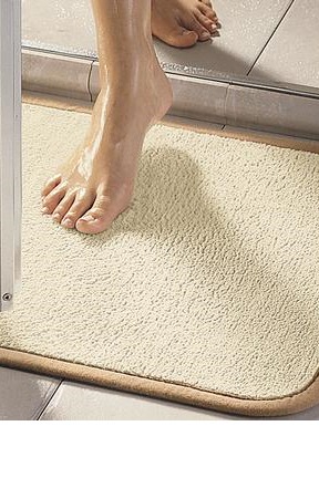The perfect mat for any shower or bathtub.