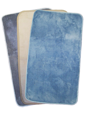 Microfiber Bath Mat - Highly absorbent and fast drying.