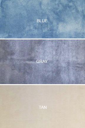 Bath mat colors.