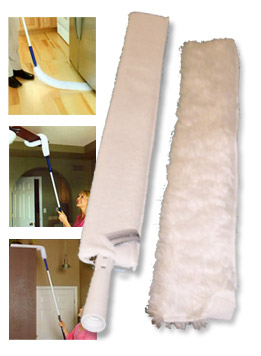 Microfiber duster - get under around and into almost anything.