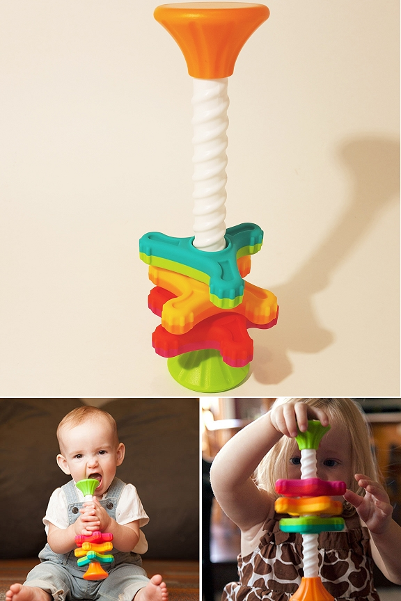 MiniSpinny. For tabletop or hand-held play.