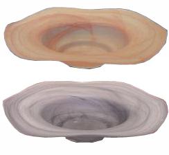 Wavy Edge Bowl For a Mist Fountain