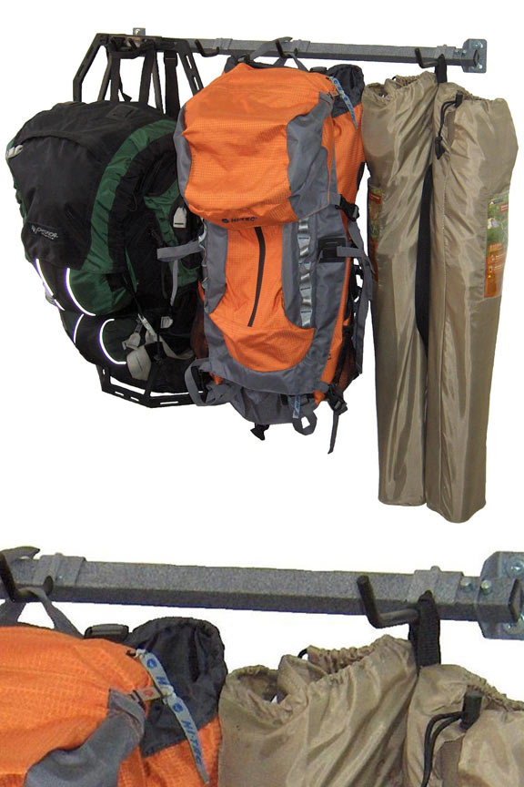 Camping Gear Storage Rack