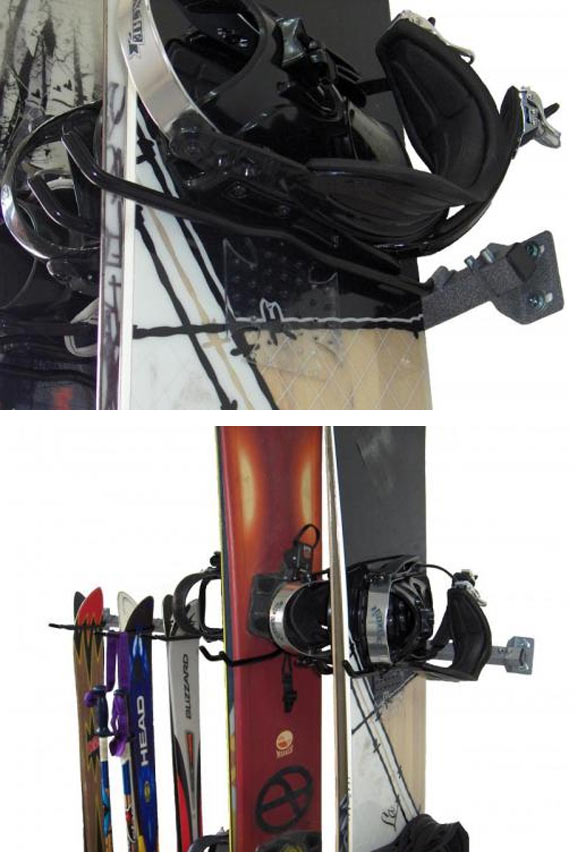 Coated hooks increase the grip while reducing the possibility of damage.